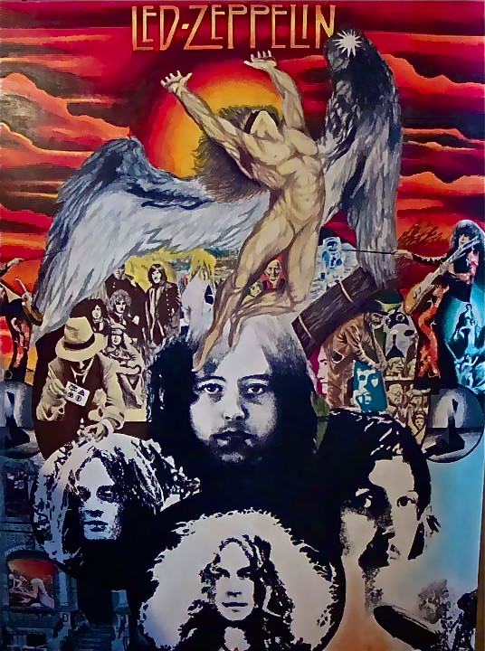 Led Zeppelin Fan Art And Mystery By Martin M Rocha Martinmrochaart