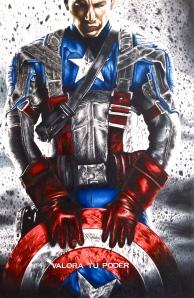 Captain America Poster Art Print